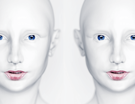 Creepy ai twins for the singularity by ray kurzweil 450x345