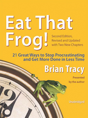 Eat That Frog Productivity Method. It incorporates 80/20 rule and to-do lists and lots of other things to make sure that you are really successful and productive