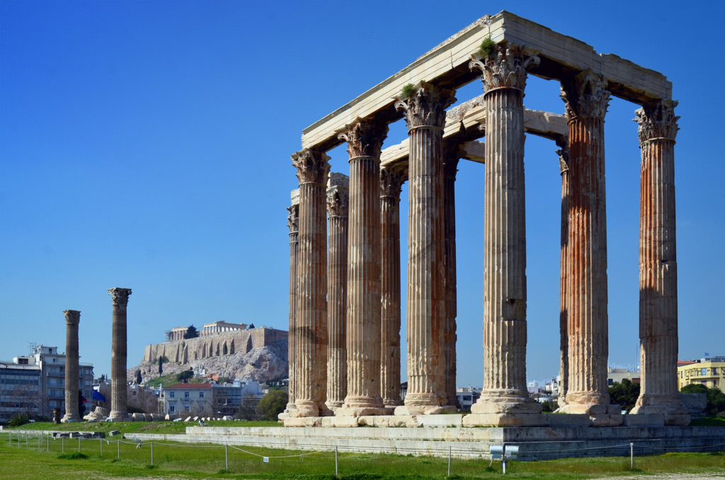 Temple of Zeus, acropolis