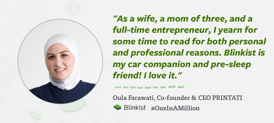 Oula Farawati, Co-founder & CEO of Printati, Jordan