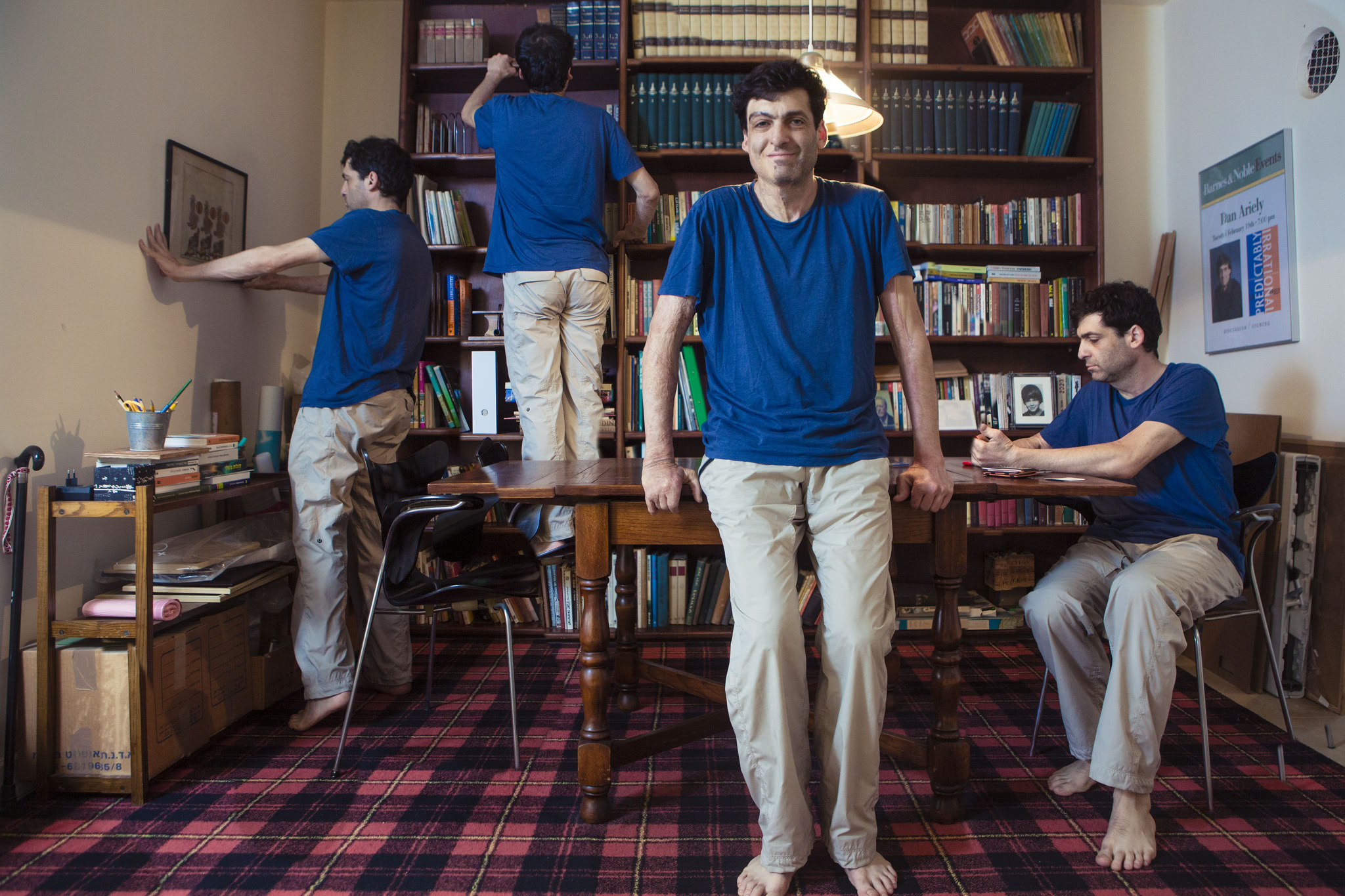 The different sides of Dan Ariely